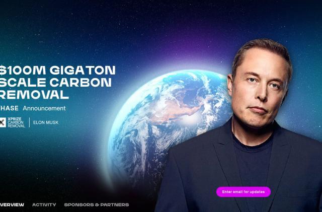 Elon Musk's $100 million carbon capture XPrize competition starts today