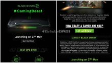 Xiaomi Black Shark 2 India launch on May 27, will be available on Flipkart
