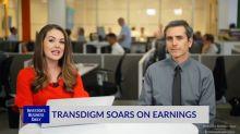 TDG Soars On Earnings
