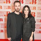 Courteney Cox Wishes Boyfriend Johnny McDaid Happy Valentine's Day with Sweet Selfies