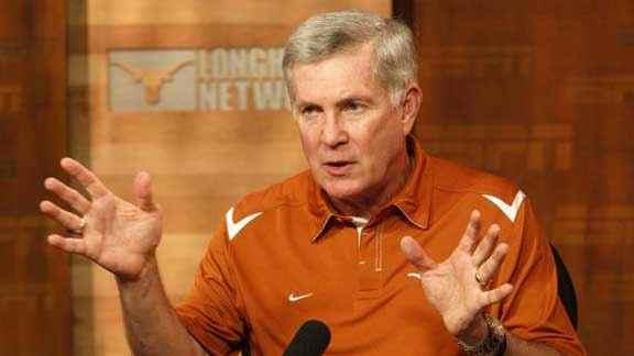 Mack Brown concerned about the Longhorn Network?