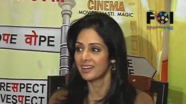 Sridevi Excited About Tv Premiere of English Vinglish