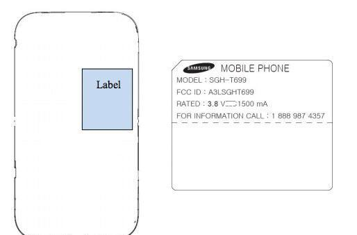 Samsung T699 passes federal inspection, lacks naming conviction