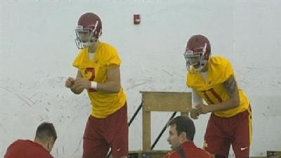 Cyclones Search For New QB As Spring Football Camp Opens