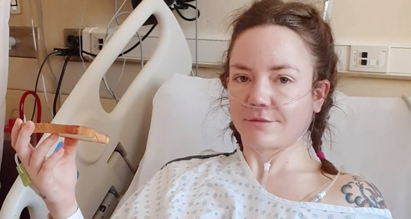 Astonishing twist as woman 'ready to die' finds out reason behind her tumour