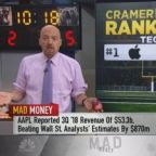 Cramer's 5 favorite tech stocks right now, including Appl...