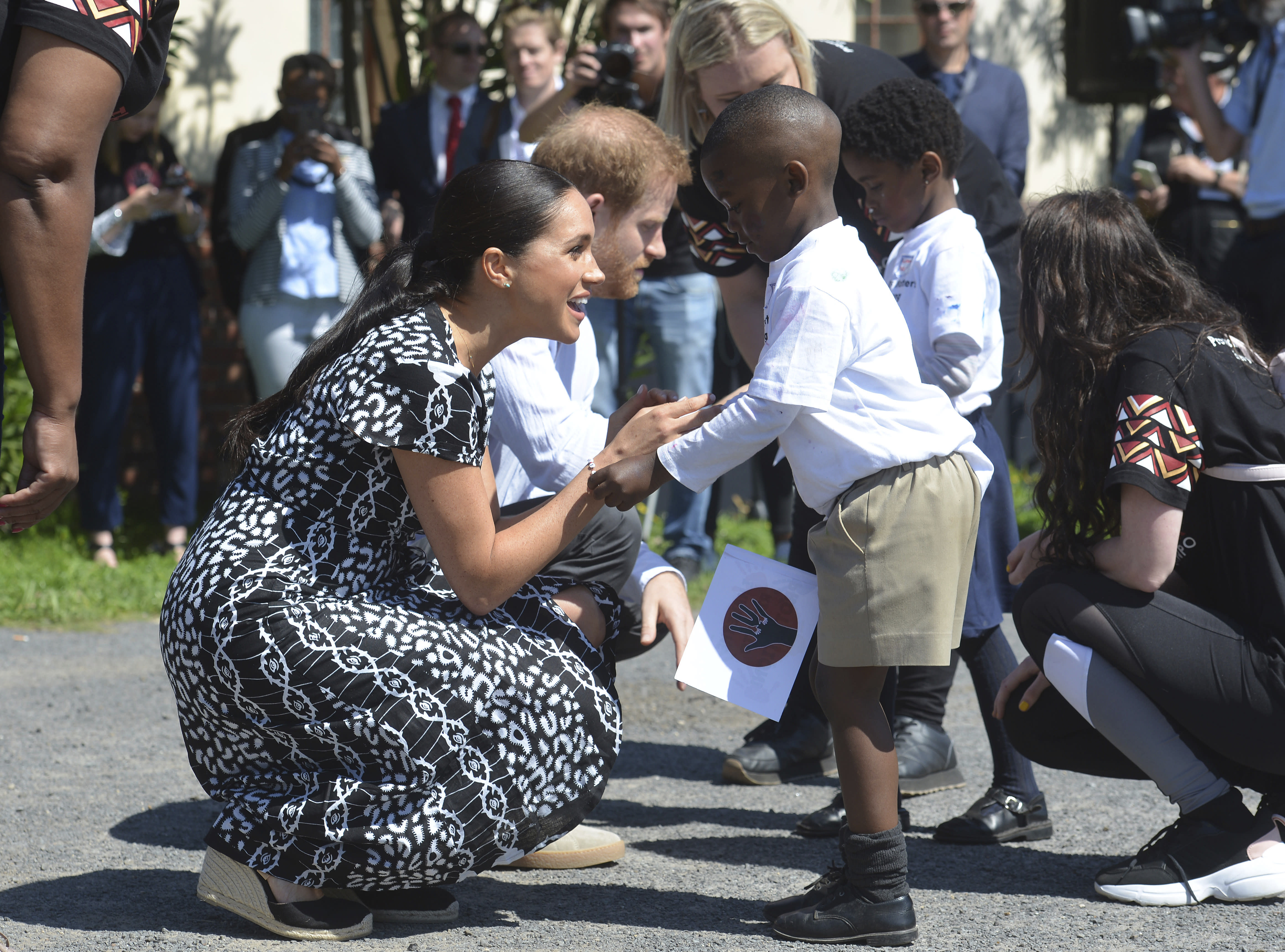 Meghan Markle Gives Baby Archie's Old Clothes to African Charity