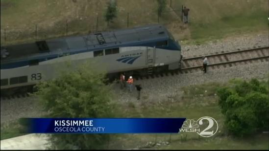 Woman hit, killed by train in Kissimmee