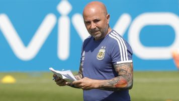 Argentina mutiny now reportedly a players' coup