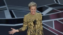 Man tries to steal Frances McDormand's Oscar at aftershow ball