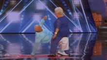 Mel B grossed out by dirty-dancing old couple on 'AGT'