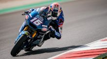 Americans Joe Roberts, Cameron Beaubier have pace during Moto2 sessions in Portugal