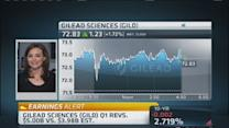 Big Q1 for Gilead