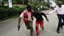Terrified civilians hide, send farewells, during Nairobi siege