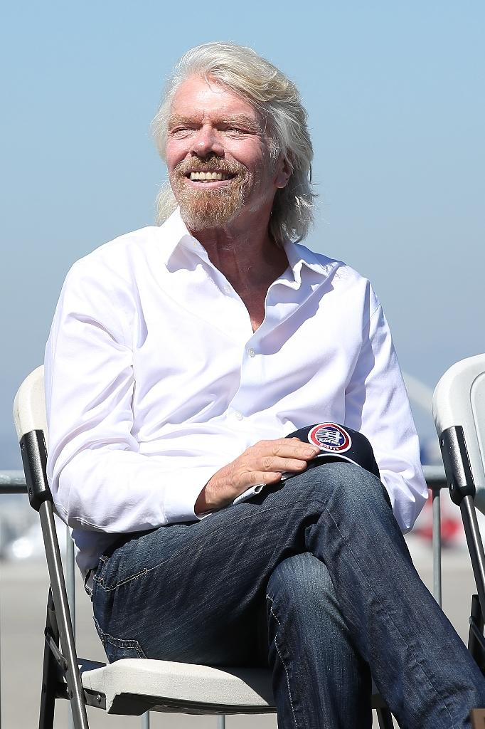 "Richard Branson, founder of the Virgin Group, says if the claims over Khashoggi's disappearance are true it would ""clearly change the ability of any of us in the West to do business with the Saudi government"" (AFP Photo/Phillip Faraone)"