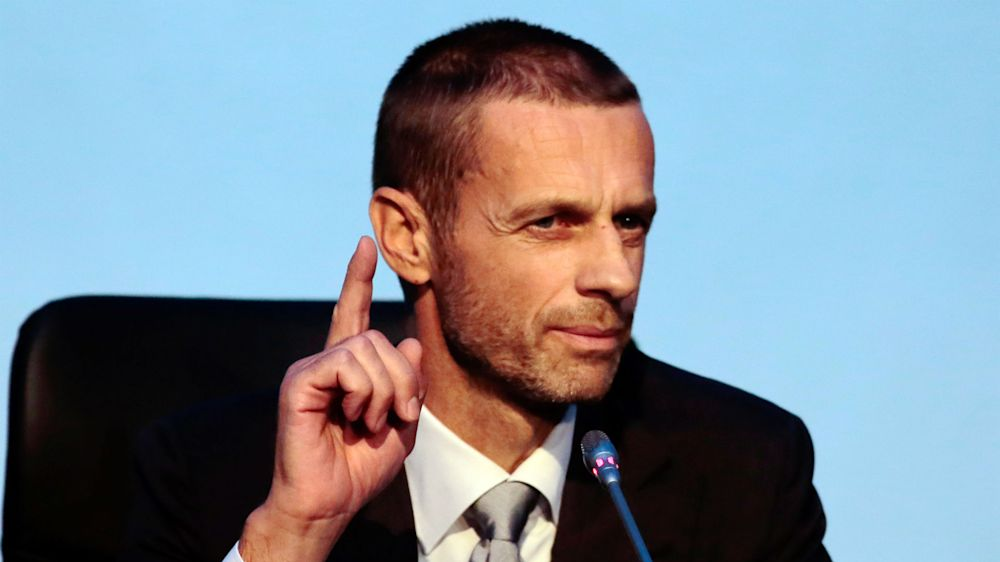 'We will not be blackmailed' - UEFA chief Ceferin warns Europe's elite