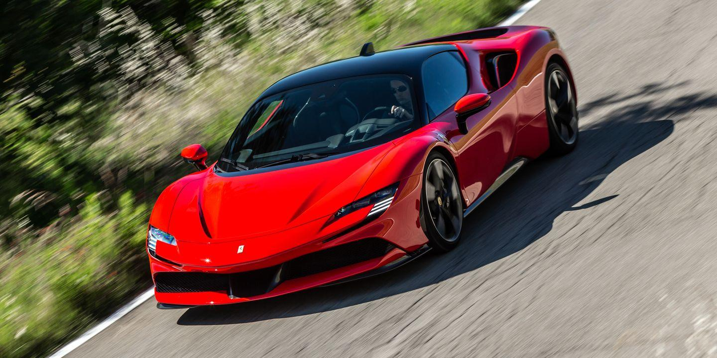 the 2021 ferrari sf90 stradale goes from silent to violent