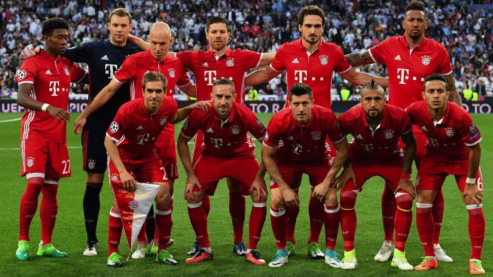 Os números do Bayern de Munique campeão 2016/17