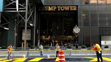 Black Lives Matter mural outside Trump Tower defaced; mayor says 'nice try'