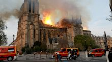 PHOTOS: Notre Dame Cathedral on fire