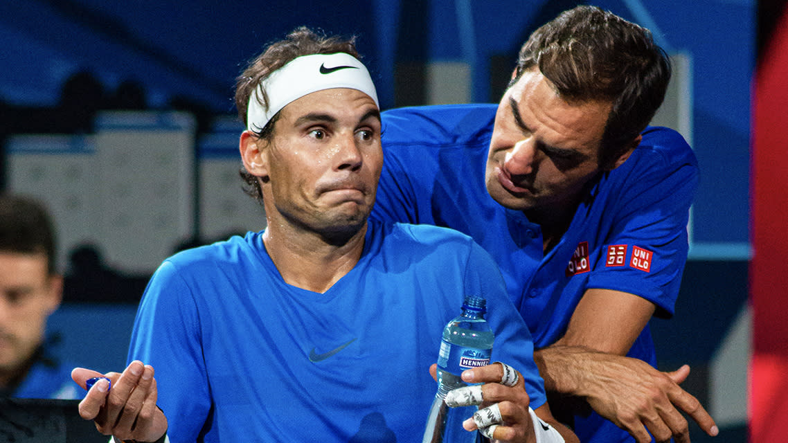 Rafael Nadal Tells Roger Federer Why He Plays Left Handed
