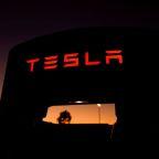 Asian suppliers' stocks slip on Tesla's cheaper battery plan