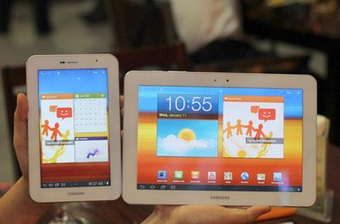 Galaxy Tab 10.1 and 7.0 Plus get bleached, on sojourn in Vietnam