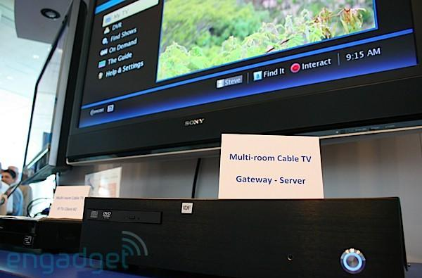 Video: Intel Tru2way server streams cable all over your house