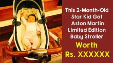 This Celeb Kid Has Got Limited Edition Aston Martin Stroller As A Gift From Her Musician Dad