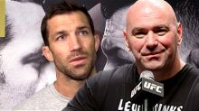 Dana White Responds to Luke Rockhold's 'Think Before You Run Your Mouth' Slam