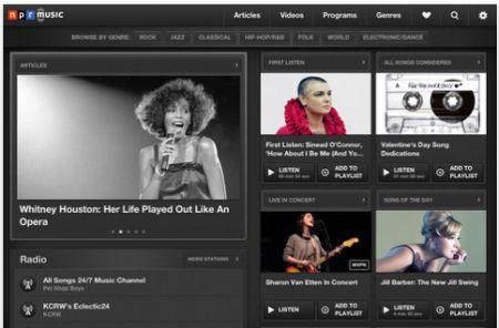 Daily iPad App: NPR Music is a treat for music fans