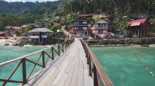 Malaysian island hopping with the family