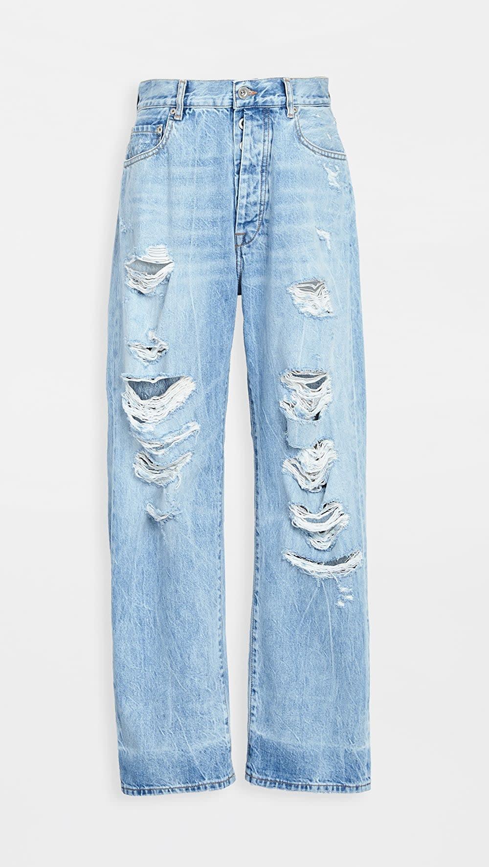 <p><span>Unravel Project Distressed Baggy Boyfriend Jeans</span> ($459, originally $655)</p>