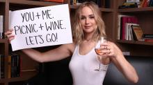Jennifer Lawrence really wants to drink wine with you