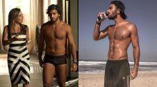 Depois de se ver de sunga na telinha, Hugo Moura emagreceu cinco quilos em cinco dias