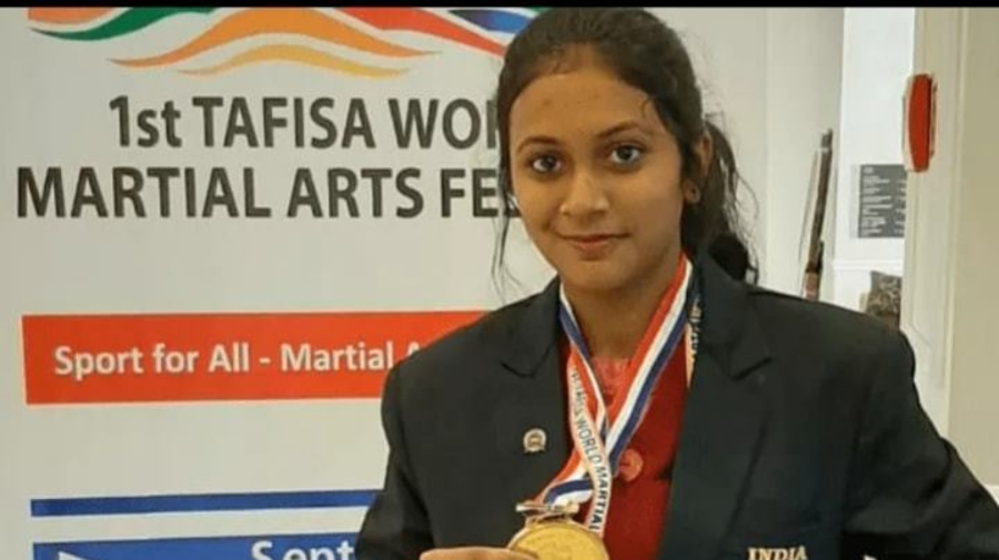 Paramita Bhattacharya, class 12 student girl who secured Gold at TAFISA aims for Olympics