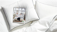 Ikea makes the bedroom next year's focus with their new catalogue