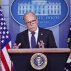 White House's Kudlow sees single-digit unemployment in August, 'V' recovery