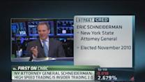 High-frequency trading creates instability: Schneiderman