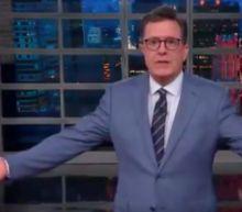 Stephen Colbert Mocks Melania's Jacket: Was 'Womp Womp' Your First Choice?