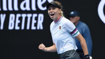 American teen making history at Aussie Open