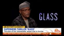Samuel L. Jackson and the stars of 'Glass' chat to Sunrise