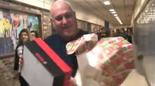 Students Give The Best Christmas Gift To Custodian Who Goes 'Above And Beyond'