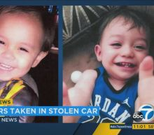 Amber Alert issued after car stolen w/ 2 boys inside in Cathedral City
