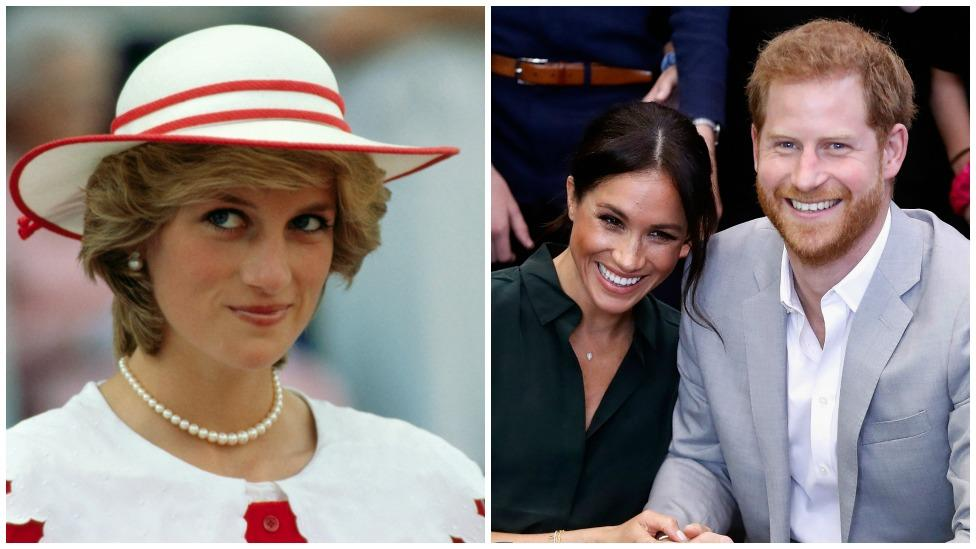 Meghan Markle and Prince Harry risk making Princess Diana's 'mistake'