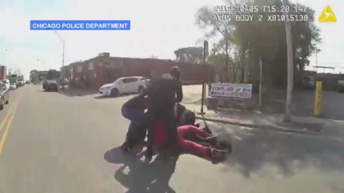 Chicago Police Release Video of Female Officer Being Attacked by Suspect