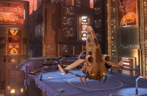 BioWare talks Star Wars: The Old Republic vehicles and launches
