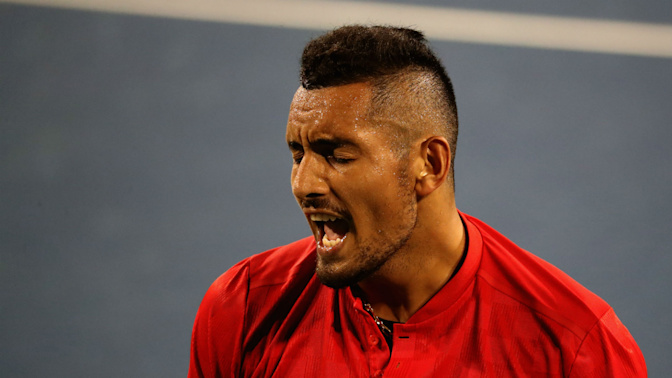 World number one or 500, it doesn't matter to Kyrgios