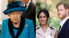 Elizabeth II estabelece 'período de transição' para Harry e Meghan