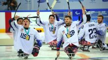 USA win sledge hockey gold as Paralympics set to end